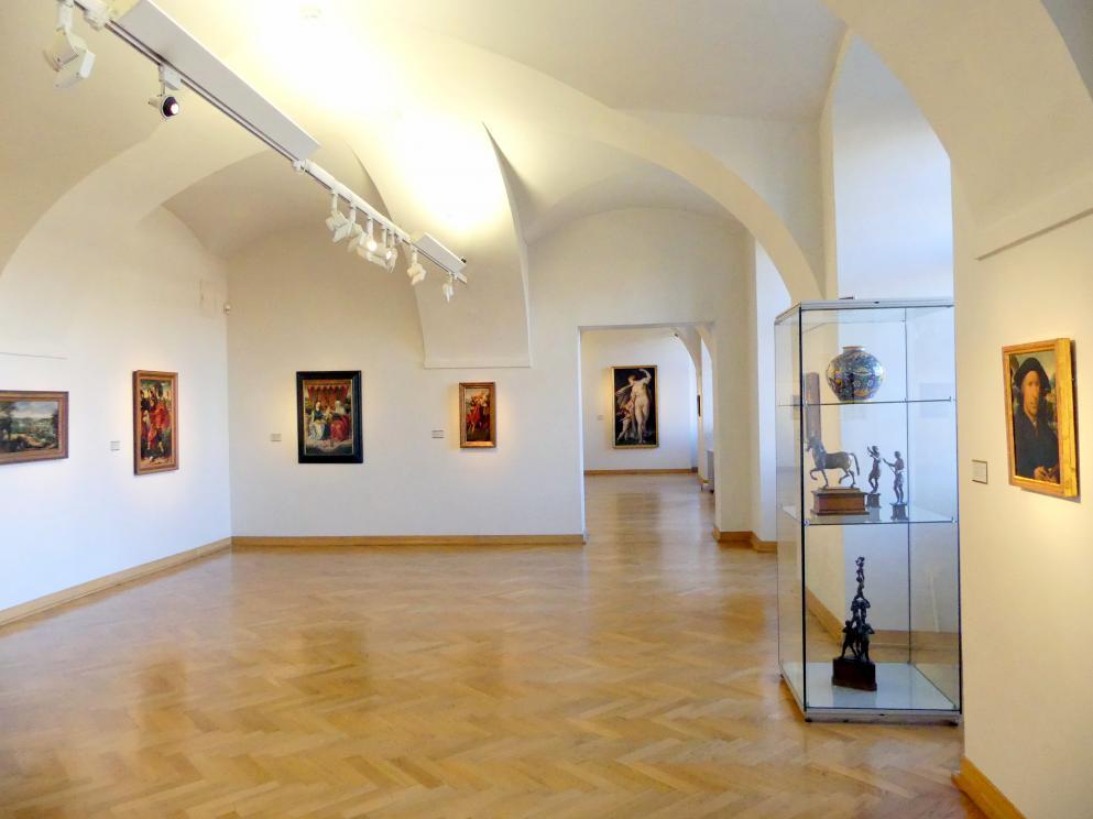 Prag, Nationalgalerie im Palais Sternberg, 1. Obergeschoss, Saal 10, Bild 3/4