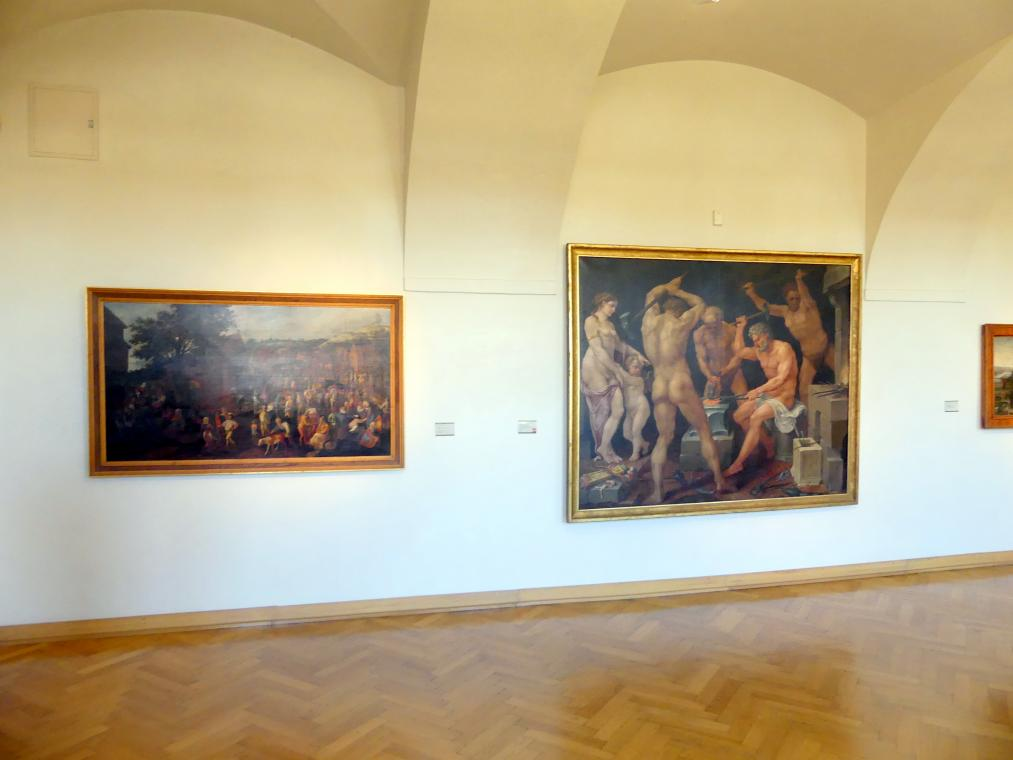 Prag, Nationalgalerie im Palais Sternberg, 1. Obergeschoss, Saal 11, Bild 1/3