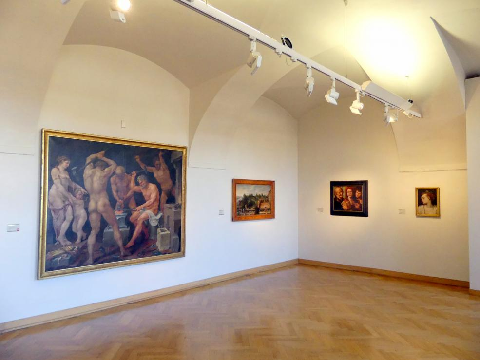 Prag, Nationalgalerie im Palais Sternberg, 1. Obergeschoss, Saal 11, Bild 2/3