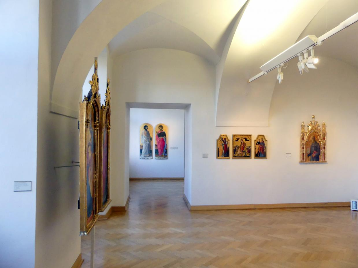 Prag, Nationalgalerie im Palais Sternberg, 1. Obergeschoss, Saal 3, Bild 1/2
