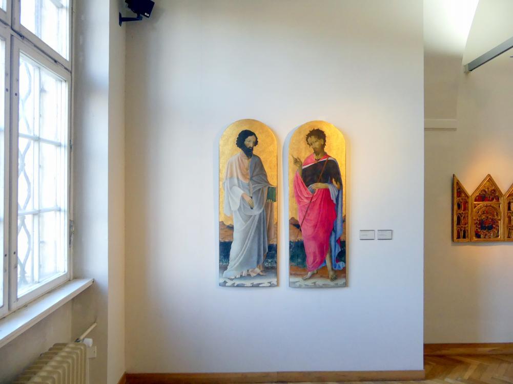 Prag, Nationalgalerie im Palais Sternberg, 1. Obergeschoss, Saal 4, Bild 1/3
