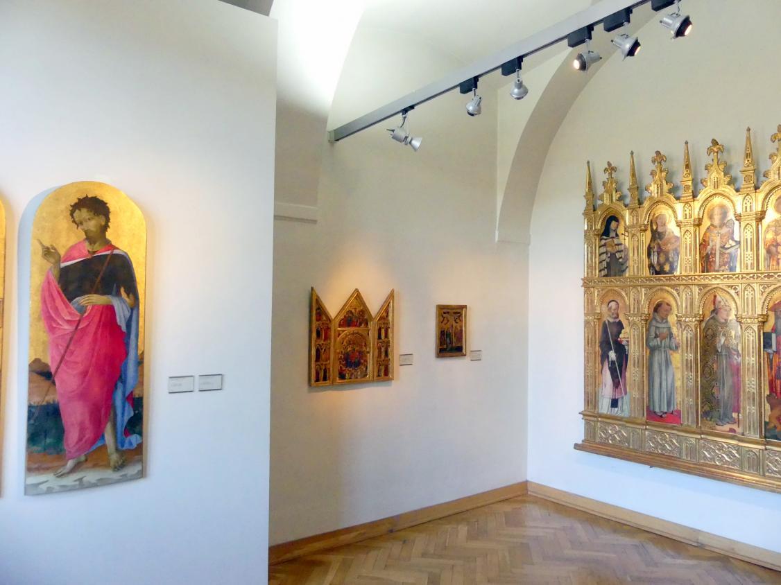 Prag, Nationalgalerie im Palais Sternberg, 1. Obergeschoss, Saal 4, Bild 2/3