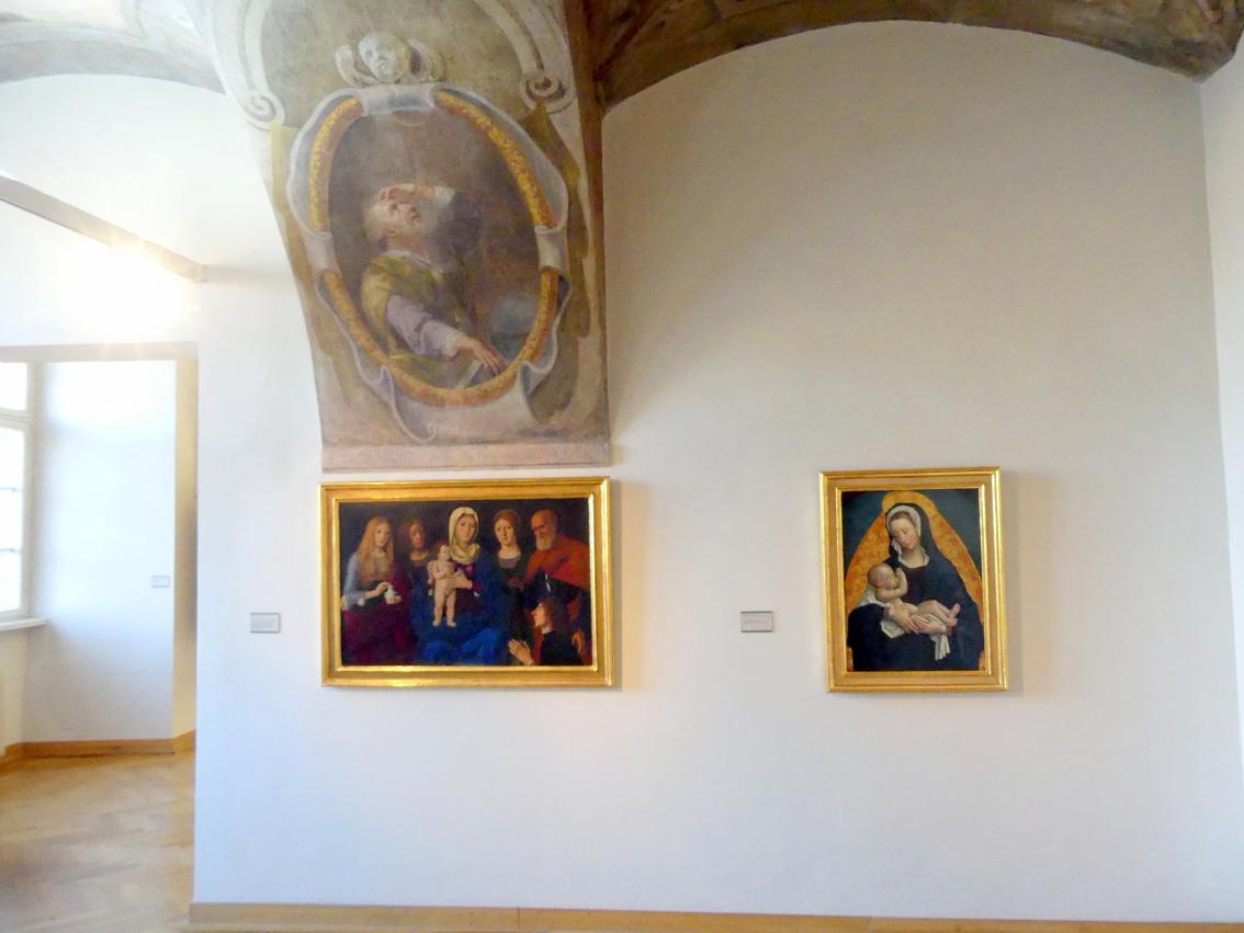 Prag, Nationalgalerie im Palais Sternberg, 1. Obergeschoss, Saal 5, Bild 3/4