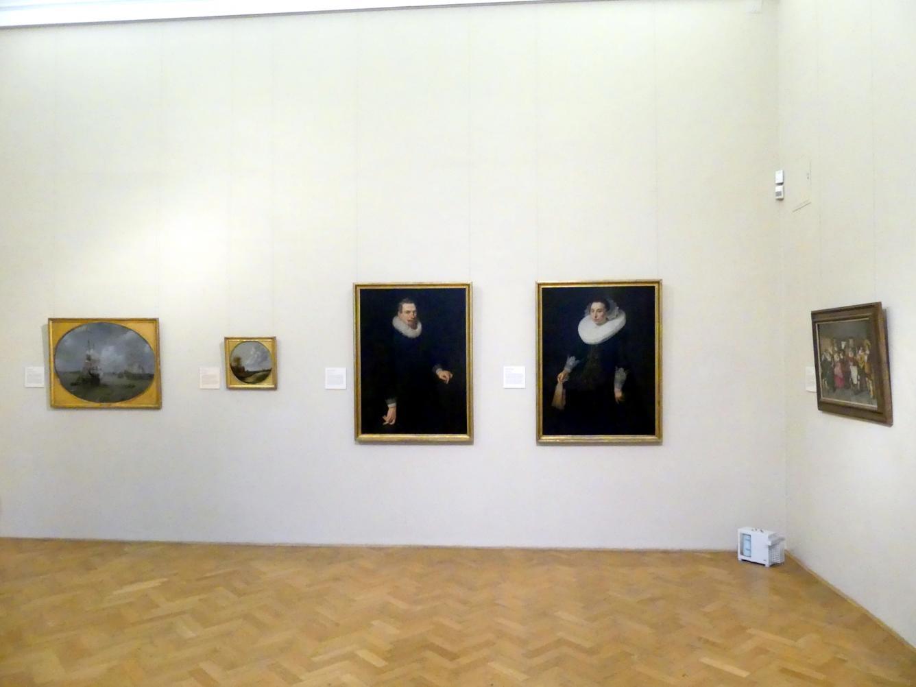 Prag, Nationalgalerie im Palais Sternberg, 2. Obergeschoss, Saal 1, Bild 1/3