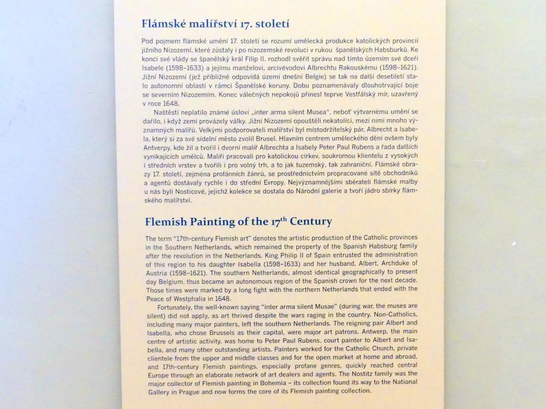 Prag, Nationalgalerie im Palais Sternberg, 2. Obergeschoss, Saal 11, Bild 5/5