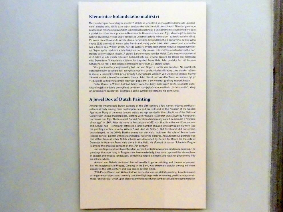 Prag, Nationalgalerie im Palais Sternberg, 2. Obergeschoss, Saal 2, Bild 3/3