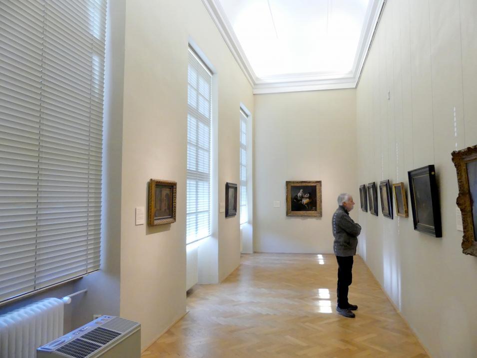 Prag, Nationalgalerie im Palais Sternberg, 2. Obergeschoss, Saal 3, Bild 1/2