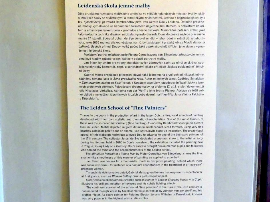 Prag, Nationalgalerie im Palais Sternberg, 2. Obergeschoss, Saal 4, Bild 3/3