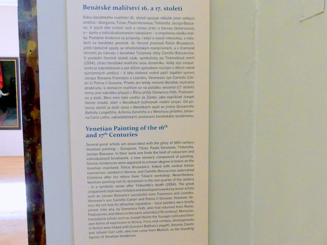 Prag, Nationalgalerie im Palais Sternberg, 2. Obergeschoss, Saal 6, Bild 4/4