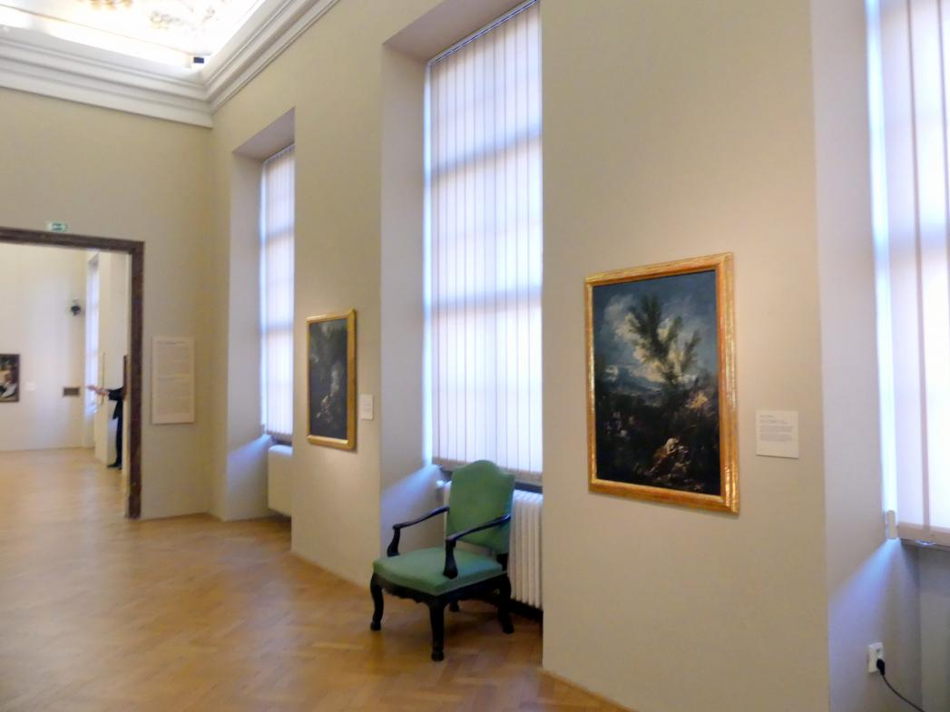 Prag, Nationalgalerie im Palais Sternberg, 2. Obergeschoss, Saal 9, Bild 3/4