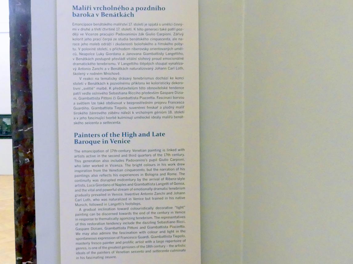 Prag, Nationalgalerie im Palais Sternberg, 2. Obergeschoss, Saal 9, Bild 4/4