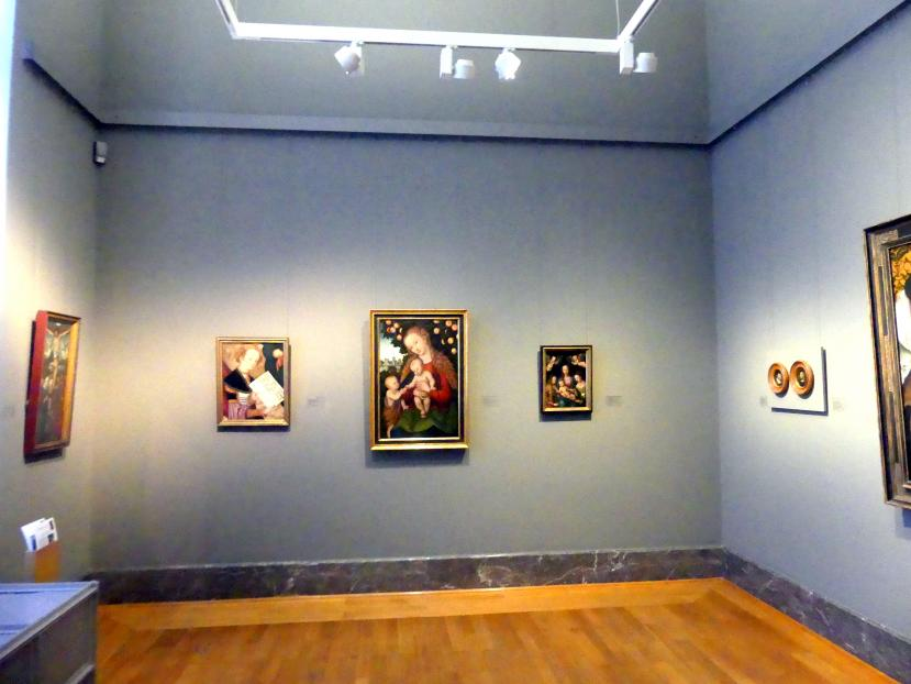 Karlsruhe, Staatliche Kunsthalle, Saal 18, Bild 1/3