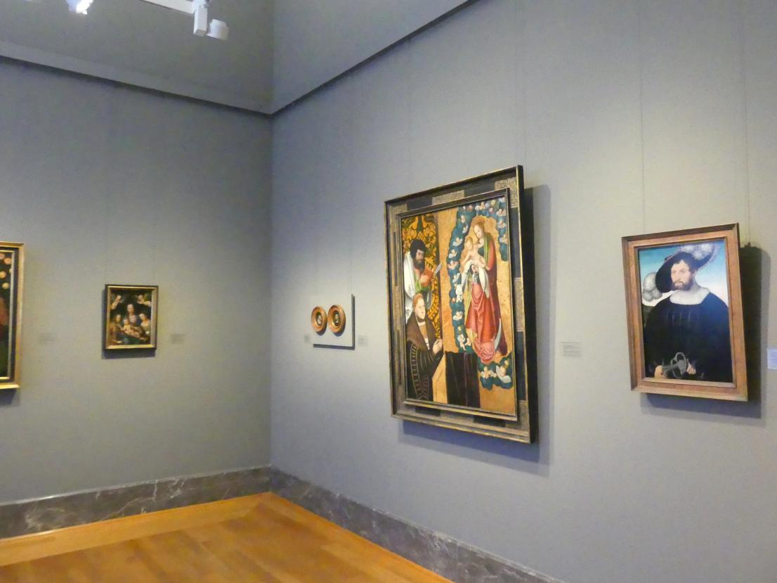 Karlsruhe, Staatliche Kunsthalle, Saal 18, Bild 2/3