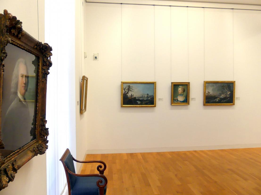 Karlsruhe, Staatliche Kunsthalle, Saal 38, Bild 1/2