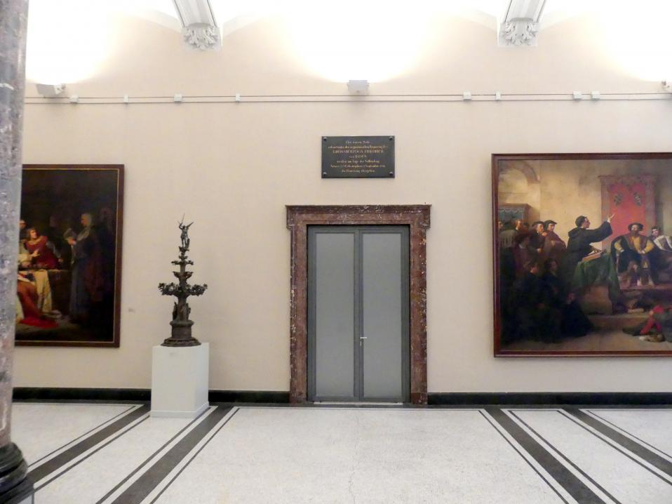 Karlsruhe, Staatliche Kunsthalle, Saal 61, Bild 5/6