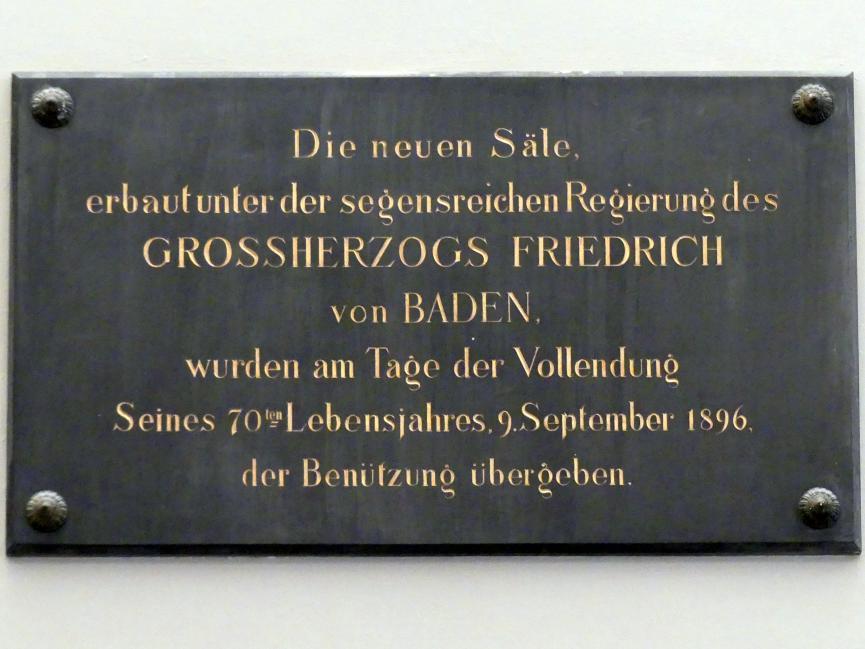 Karlsruhe, Staatliche Kunsthalle, Saal 61, Bild 6/6