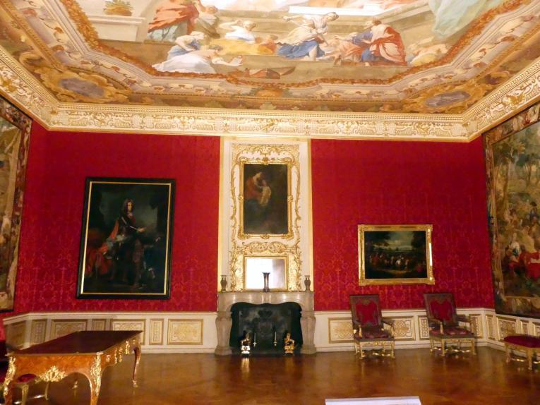 Schleißheim, Staatsgalerie im Neuen Schloss, Audienzzimmer im Paradeappartement des Kurfürsten, Bild 2/4