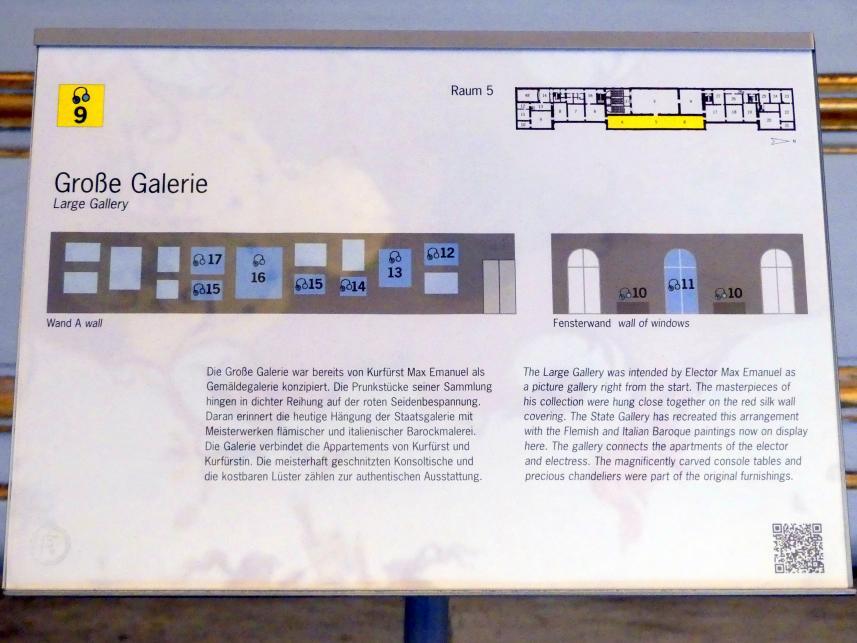 Schleißheim, Staatsgalerie im Neuen Schloss, Große Galerie, Bild 2/5