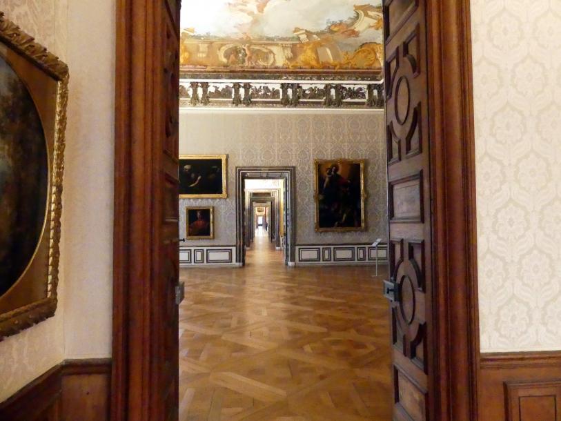 Schleißheim, Staatsgalerie im Neuen Schloss, Großes Kabinett im Appartement der Kurfürstin, Bild 1/3