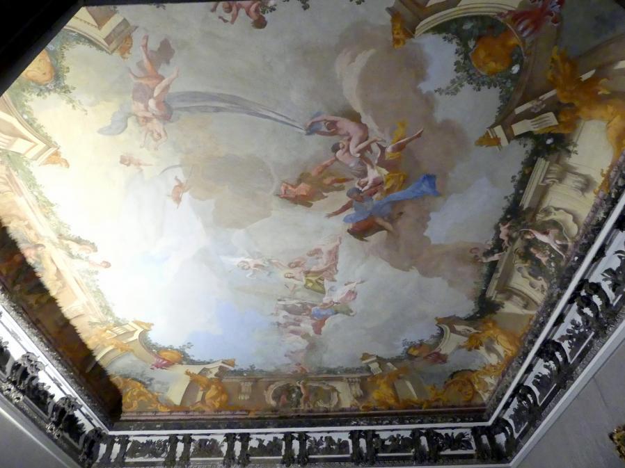 Schleißheim, Staatsgalerie im Neuen Schloss, Großes Kabinett im Appartement der Kurfürstin, Bild 2/3