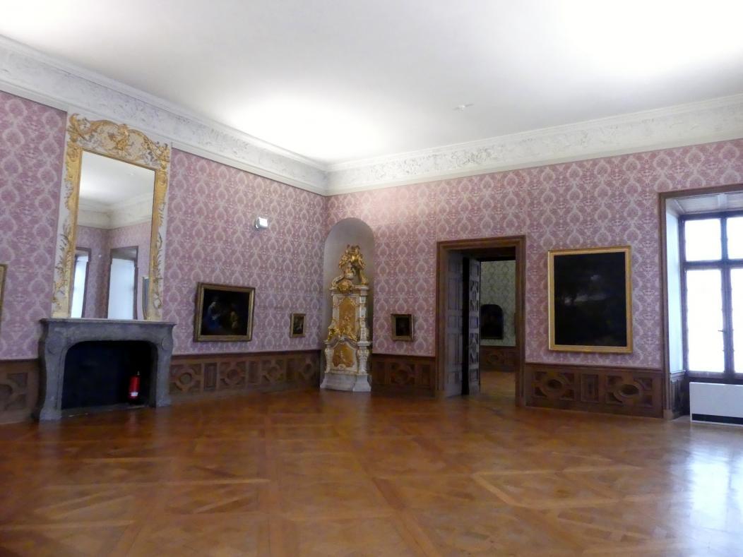 Schleißheim, Staatsgalerie im Neuen Schloss, Großes Kabinett im südlichen Erdgeschoss-Appartement, Bild 1/4