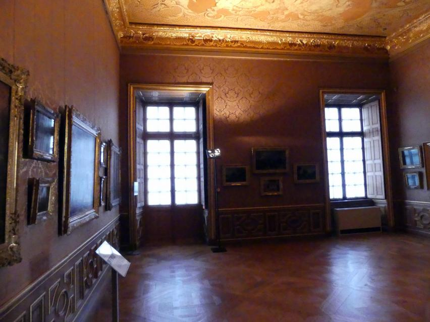Schleißheim, Staatsgalerie im Neuen Schloss, Niederländisches Malerei-Kabinett im Paradeappartement des Kurfürsten, Bild 2/5
