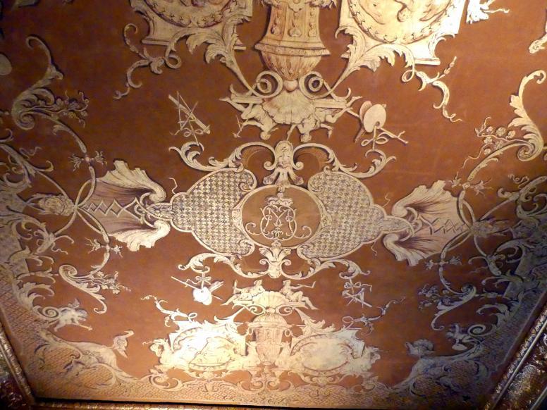 Schleißheim, Staatsgalerie im Neuen Schloss, Niederländisches Malerei-Kabinett im Paradeappartement des Kurfürsten, Bild 5/5