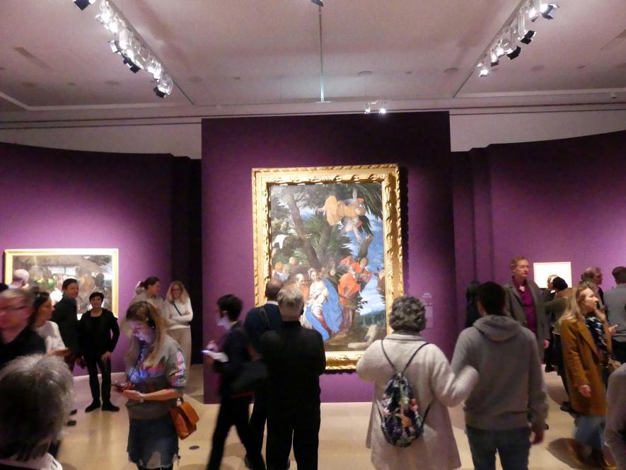 """Frankfurt, Städel, Ausstellung """"Tizian und die Renaissance in Venedig"""" vom 13.2. - 26.5.2019, Teil 1, Raum 2, Bild 1/2"""