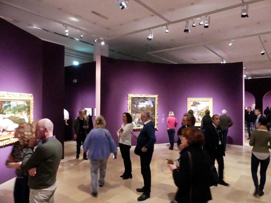 """Frankfurt, Städel, Ausstellung """"Tizian und die Renaissance in Venedig"""" vom 13.2. - 26.5.2019, Teil 1, Raum 3, Bild 1/3"""