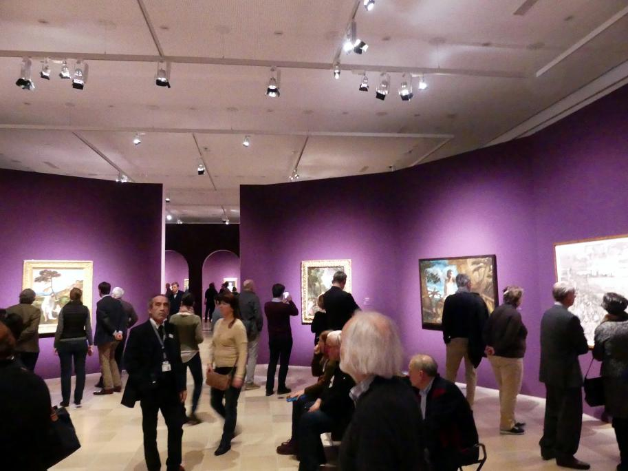 """Frankfurt, Städel, Ausstellung """"Tizian und die Renaissance in Venedig"""" vom 13.2. - 26.5.2019, Teil 1, Raum 3, Bild 2/3"""