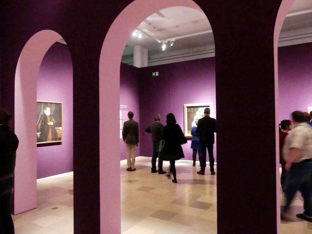 """Frankfurt, Städel, Ausstellung """"Tizian und die Renaissance in Venedig"""" vom 13.2. - 26.5.2019, Teil 1, Raum 5, Bild 1/4"""