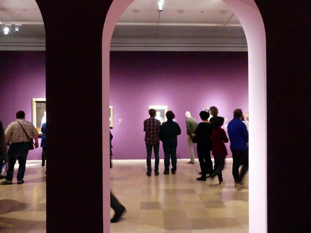 """Frankfurt, Städel, Ausstellung """"Tizian und die Renaissance in Venedig"""" vom 13.2. - 26.5.2019, Teil 1, Raum 5, Bild 2/4"""
