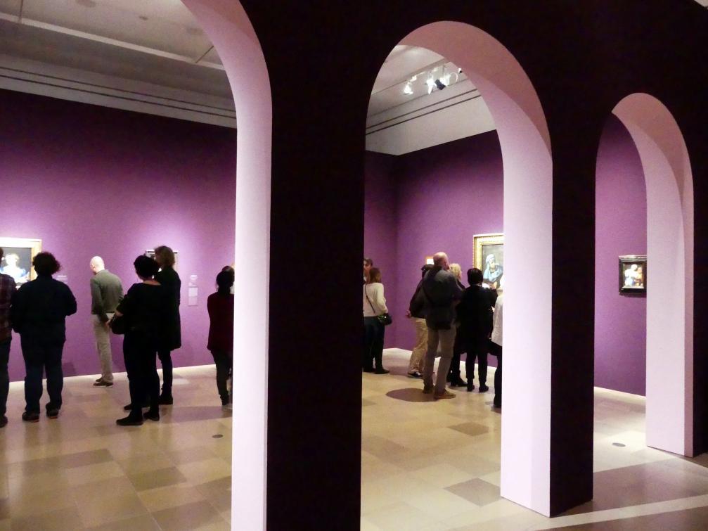 """Frankfurt, Städel, Ausstellung """"Tizian und die Renaissance in Venedig"""" vom 13.2. - 26.5.2019, Teil 1, Raum 5, Bild 3/4"""