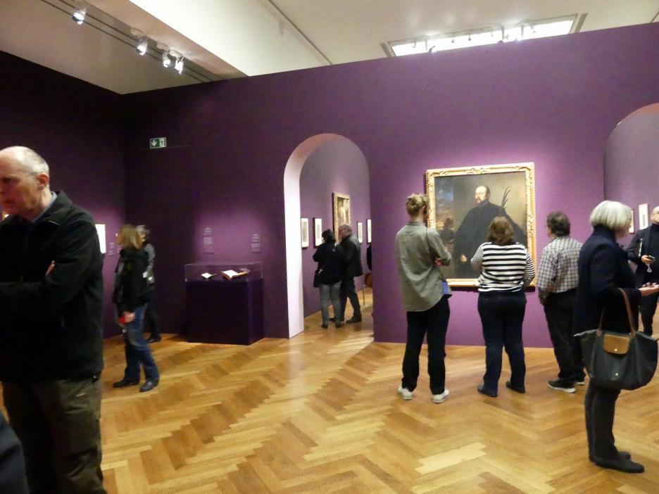 """Frankfurt, Städel, Ausstellung """"Tizian und die Renaissance in Venedig"""" vom 13.2. - 26.5.2019, Teil 2, Raum 2, Bild 1/3"""