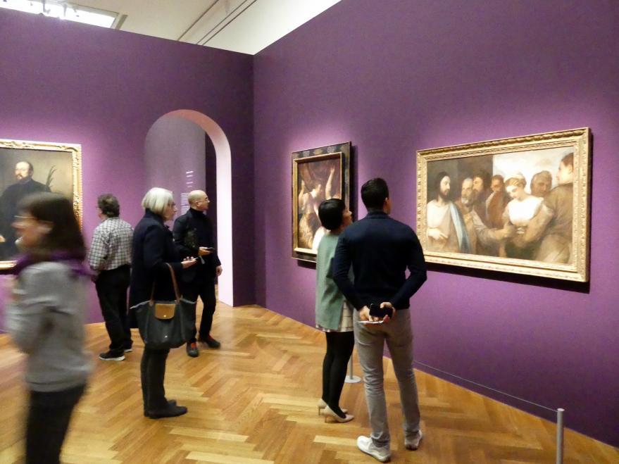 """Frankfurt, Städel, Ausstellung """"Tizian und die Renaissance in Venedig"""" vom 13.2. - 26.5.2019, Teil 2, Raum 2, Bild 2/3"""