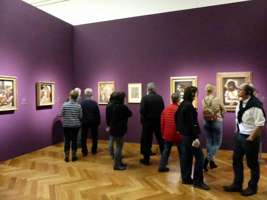"""Frankfurt, Städel, Ausstellung """"Tizian und die Renaissance in Venedig"""" vom 13.2. - 26.5.2019, Teil 2, Raum 4, Bild 2/3"""