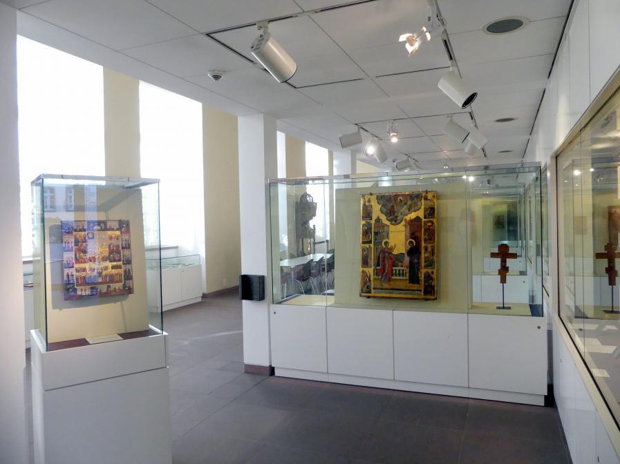 Frankfurt am Main, Ikonen-Museum, Erdgeschoss, Bild 1/4