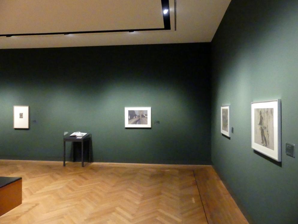 Schweinfurt, Museum Georg Schäfer, Ausstellung Adolf Hölzel vom 3.2.-1.5.2019, Saal 5, Bild 2/3