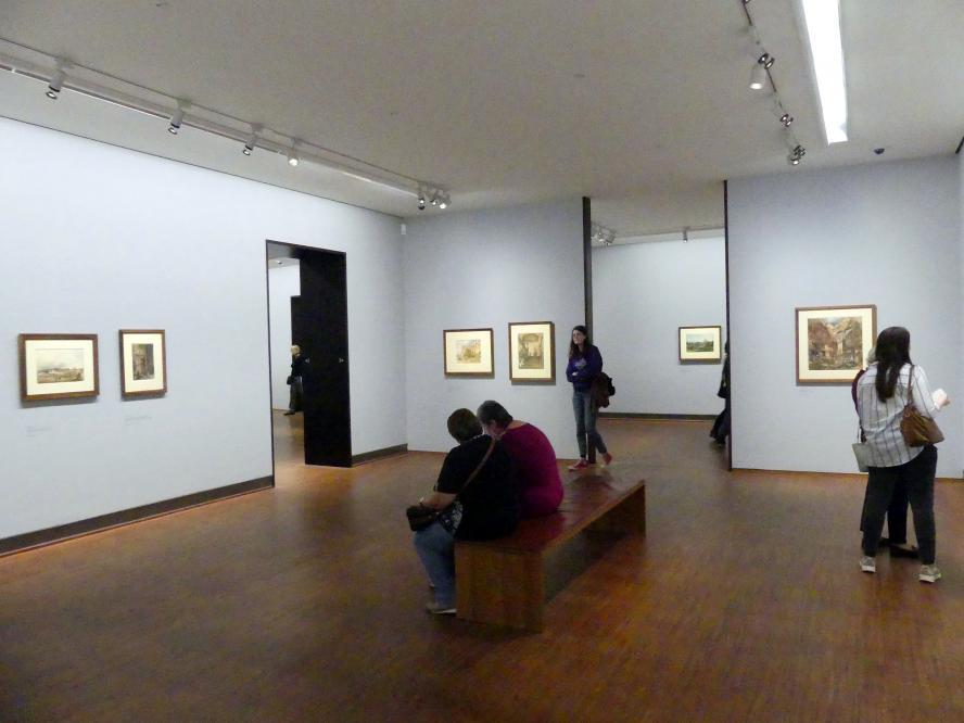 """Wien, Albertina, Ausstellung """"Rudolf von Alt und seine Zeit"""" vom 16.2.-10.6.2019, Eine Stadt im Wandel, Bild 1/3"""