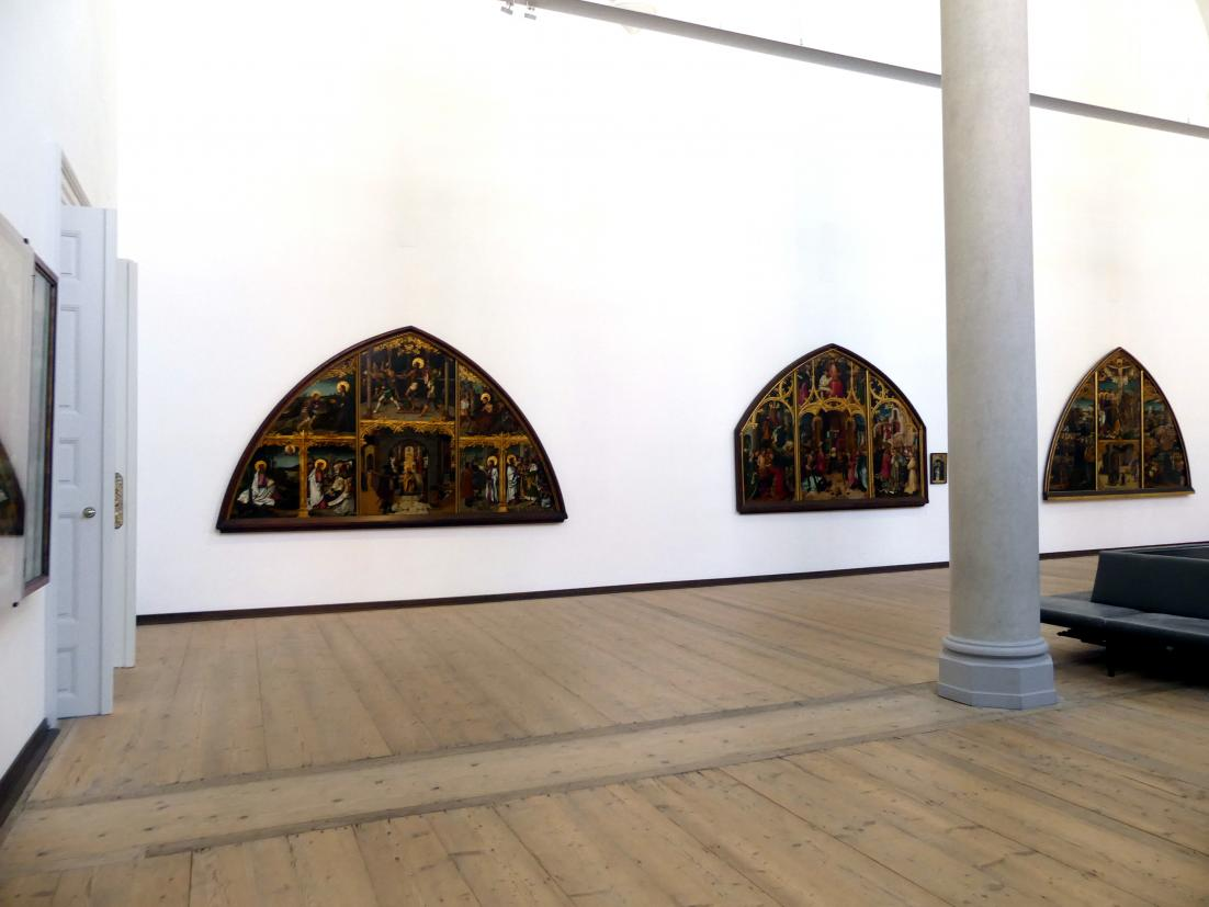 Augsburg, Staatsgalerie in der ehem. Katharinenkirche, Saal 3