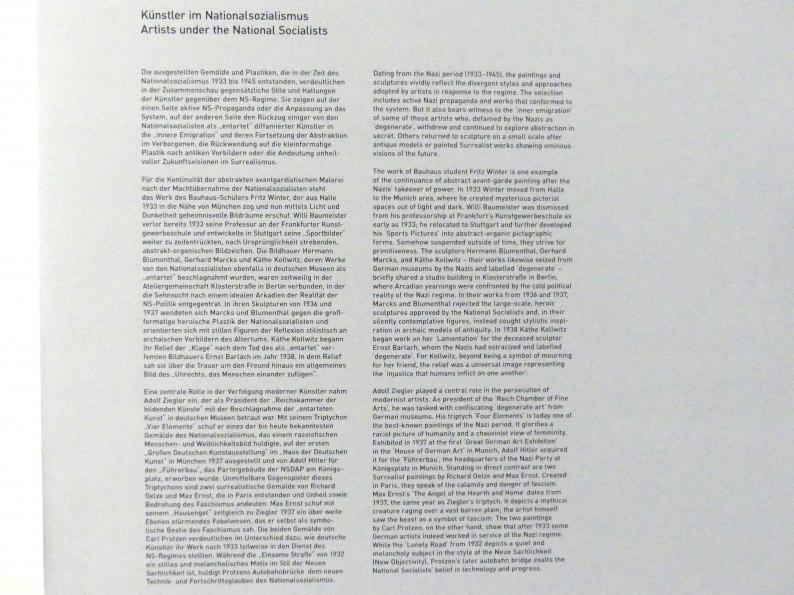 München, Pinakothek der Moderne, Saal 13, Bild 2/2