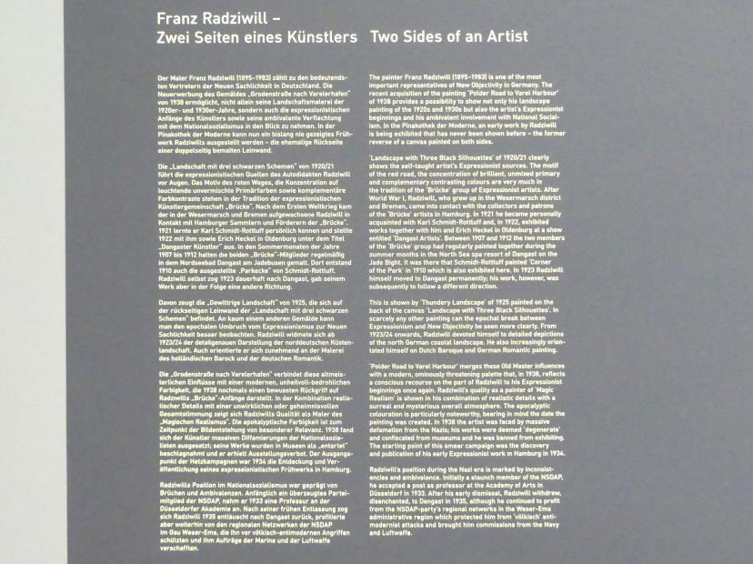 München, Pinakothek der Moderne, Saal 7, Bild 3/5