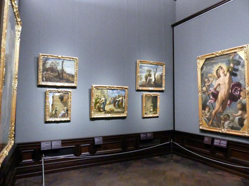 Dresden, Gemäldegalerie Alte Meister, 1. OG: Italienische Malerei 17. Jahrhundert, Bild 1/2
