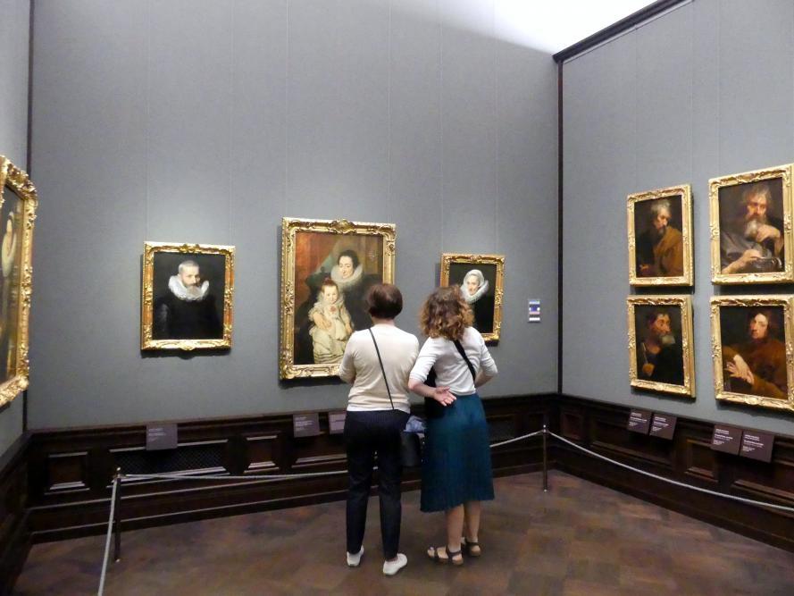 Dresden, Gemäldegalerie Alte Meister, 1. OG: van Dyck, Bild 1/2