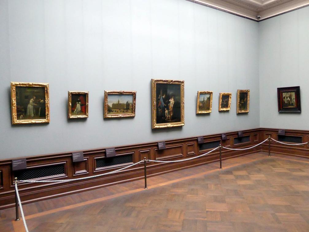 Dresden, Gemäldegalerie Alte Meister, 2. OG: Niederländische Genremalerei