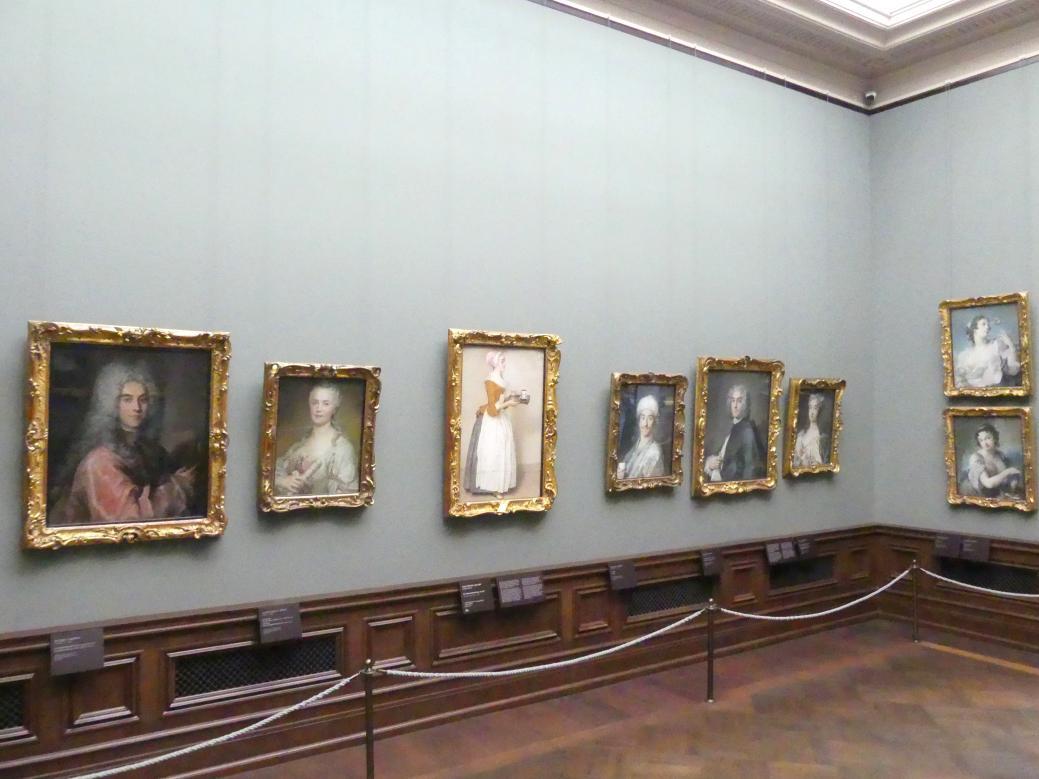 Dresden, Gemäldegalerie Alte Meister, 2. OG: Pastelle, Bild 1/2