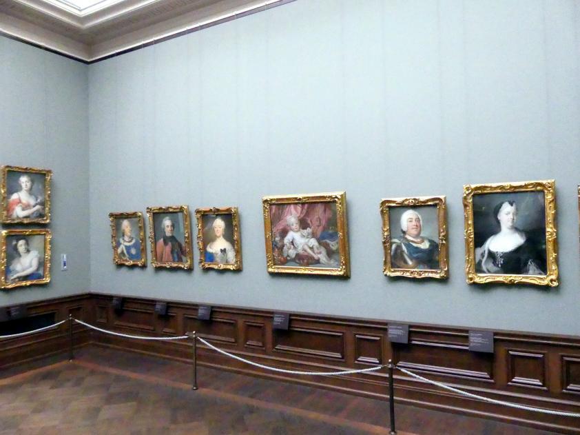 Dresden, Gemäldegalerie Alte Meister, 2. OG: Pastelle, Bild 2/2