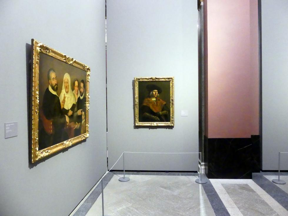 Dresden, Gemäldegalerie Alte Meister, EG: Porträts 2, Bild 1/2