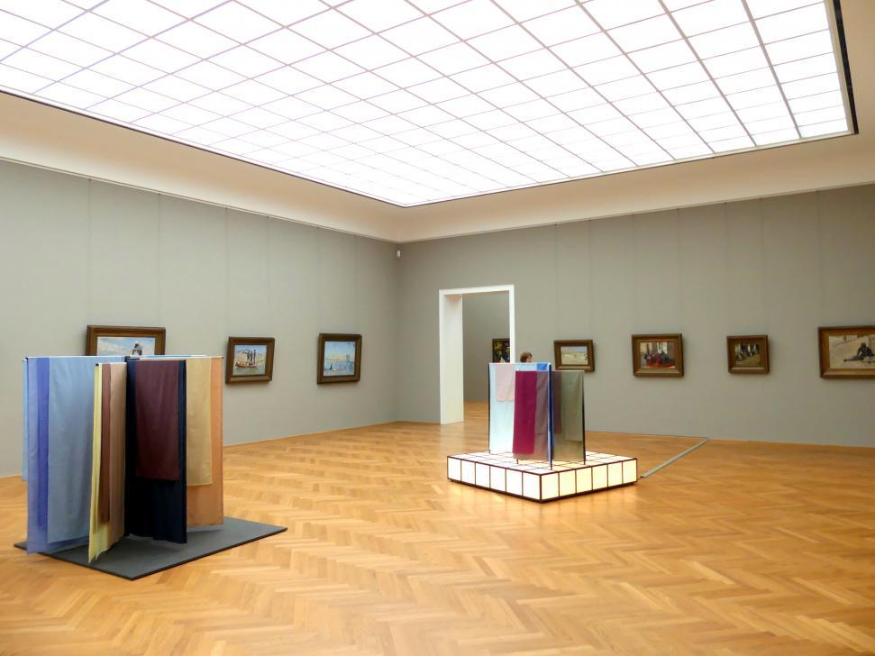 Dresden, Albertinum, Galerie Neue Meister, 2. Obergeschoss, Saal 12, Bild 1/2