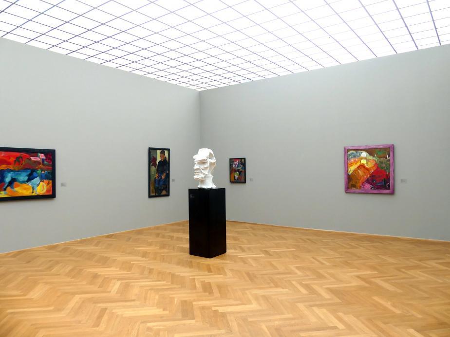Dresden, Albertinum, Galerie Neue Meister, 2. Obergeschoss, Saal 14, Bild 1/2